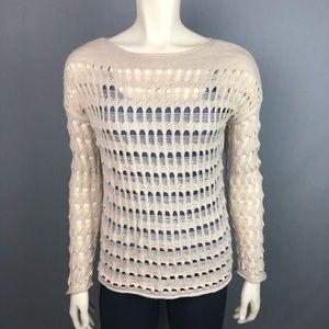 Diane Von Furstenberg Rhodes sweater techno stitch